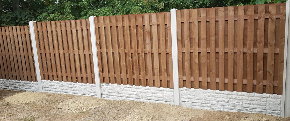 A Fencing Example from S Beech Timbers in Barnsley
