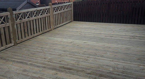 Decking in Barnsley